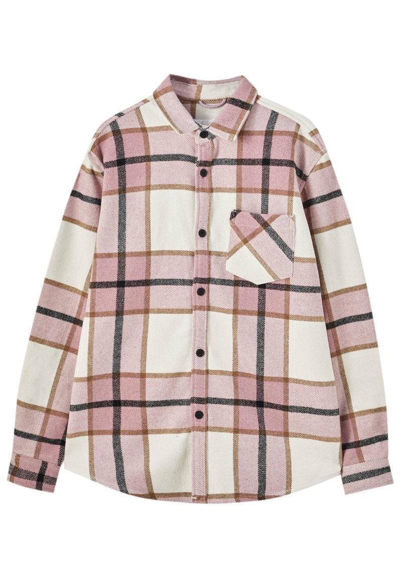 PULL&BEAR - Summer jacket - mottled pink