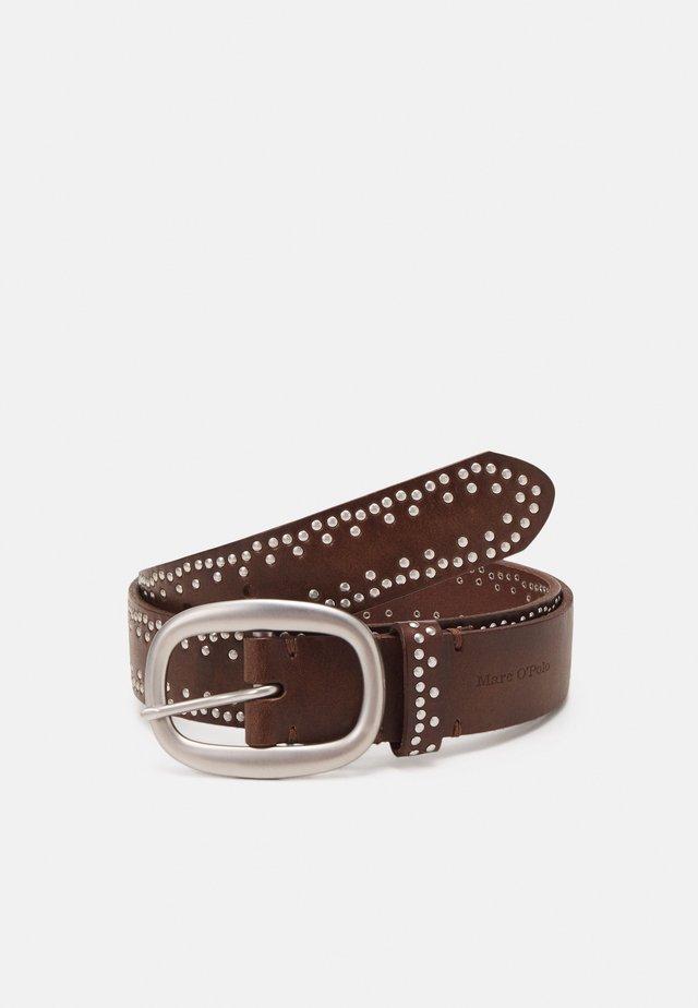 HILDE - Cinturón - maroon brown