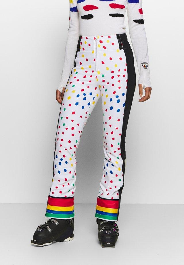 DIXY SOFT - Zimní kalhoty - rainbow