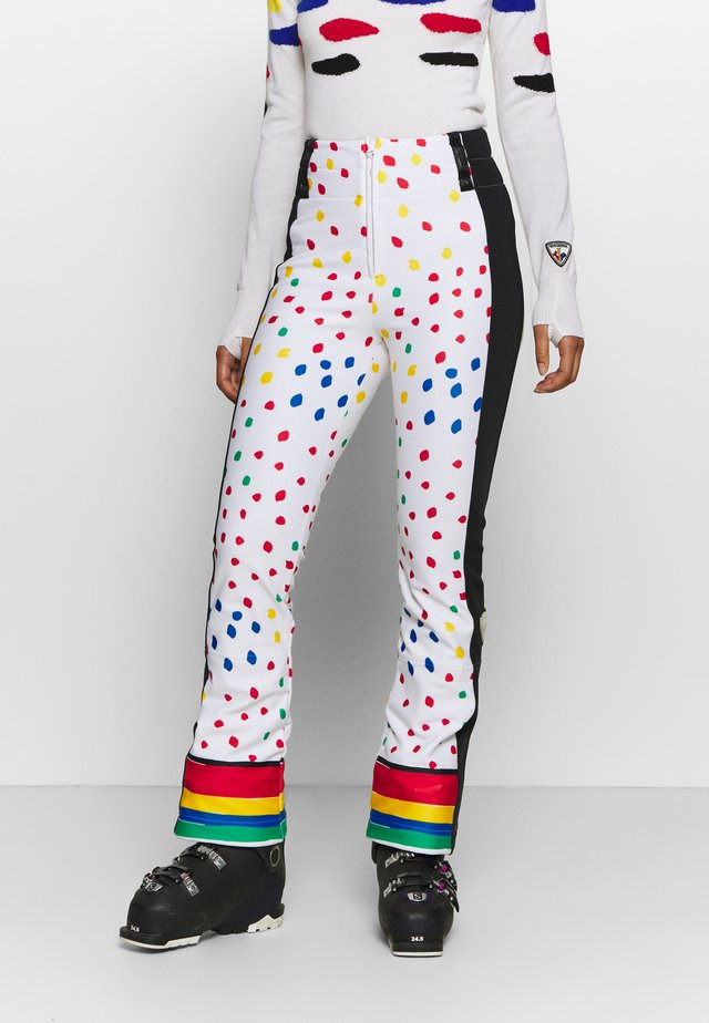DIXY SOFT - Pantaloni da neve - rainbow