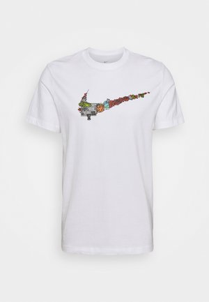 FRAN TEE - T-shirt con stampa - white