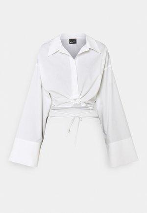 ENYA - Button-down blouse - white