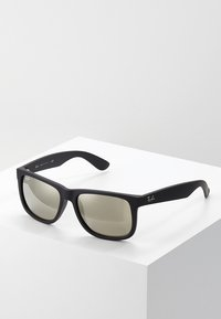 Ray-Ban - JUSTIN - Sunglasses - light brown mirror gold/black - 0
