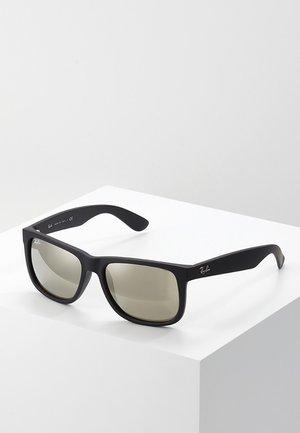 JUSTIN - Sunglasses - light brown mirror gold/black