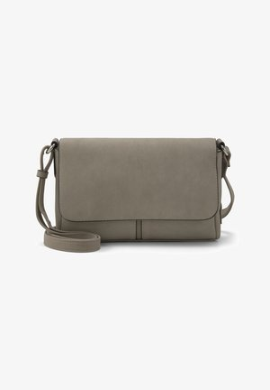 MIT ÜBERSCHLAG - Across body bag - taupe / taupe