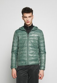 EA7 Emporio Armani - GIACCA  - Down jacket - dark forest - 0
