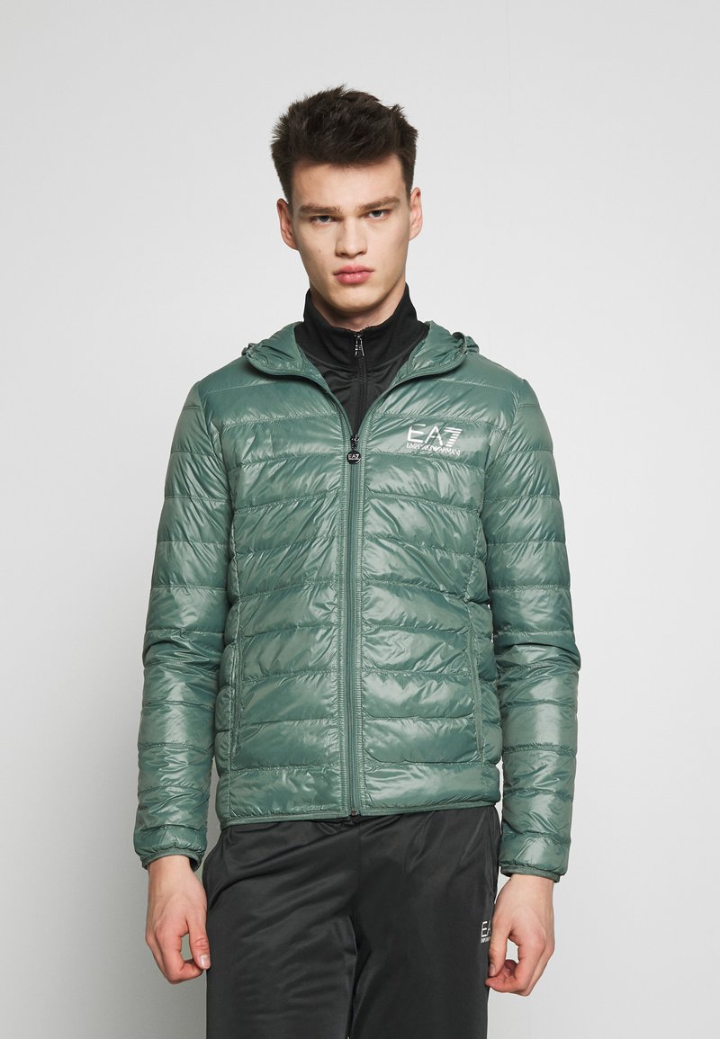 EA7 Emporio Armani - GIACCA  - Down jacket - dark forest