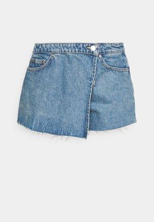 SLIDE - Shorts di jeans - hanson blue