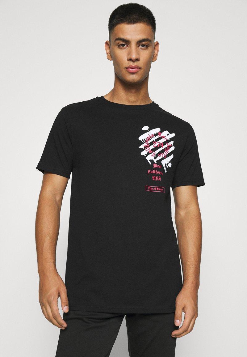 274 - WEST TEE - Print T-shirt - black