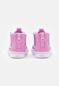 Vans - COMFYCUSH SK8 ZIP - Sneakers hoog - orchid/true white - 2