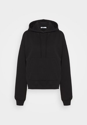 JASMIN AZIZAM STONE WASHED OVERSIZED HOODIE - Sweatshirt - black