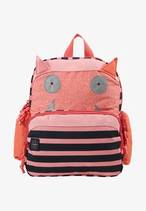 MEDIUM BACKPACK LITTLE MONSTER MAD MABEL - Rucksack - pink/blue