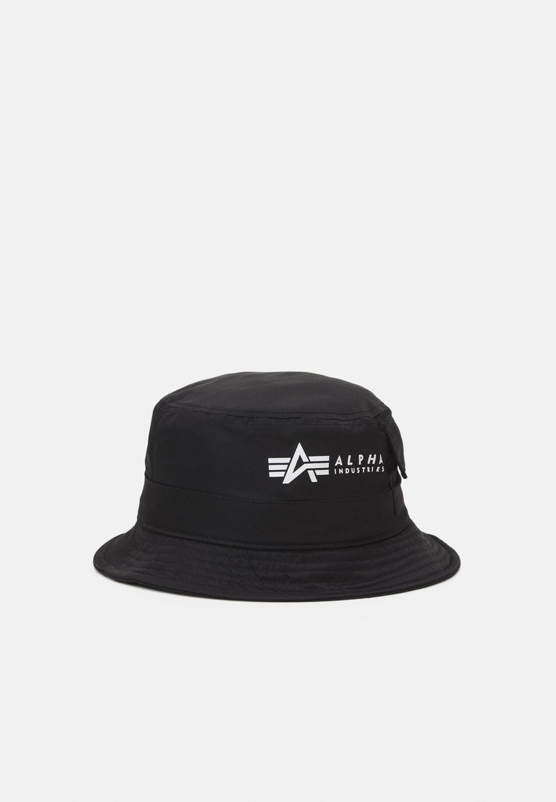 Alpha Industries - UTILITY BUCKET HAT UNISEX - Hat - black