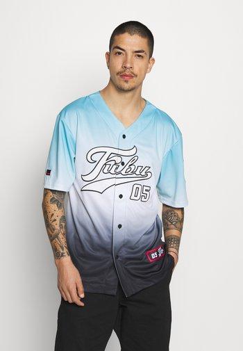 VARSITY BASEBALL GRADIENT - Print T-shirt - lightblue