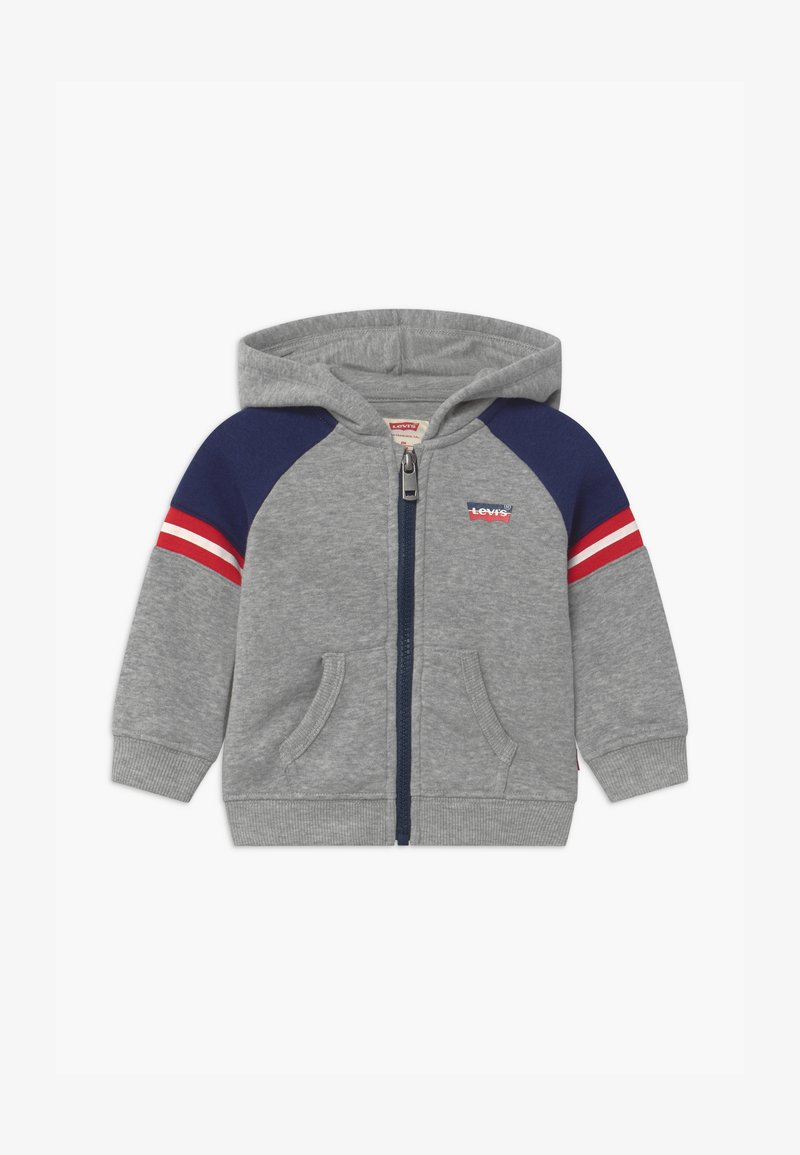 Levi's® - COLORBLOCK FULL-ZIP HOODIE - Mikina na zip - grey