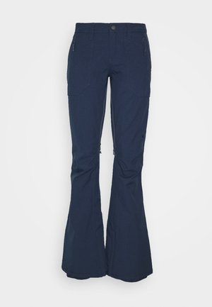 VIDA ROSE BROWN - Pantalón de nieve - dress blue