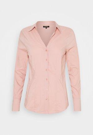 BASIC BLOUSE - Button-down blouse - pastel rose