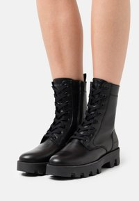 Marc O'Polo - PILAR  - Platform ankle boots - black - 0