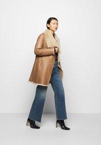 STUDIO ID - CLASSIC COAT - Winter coat - camel/light camel - 1
