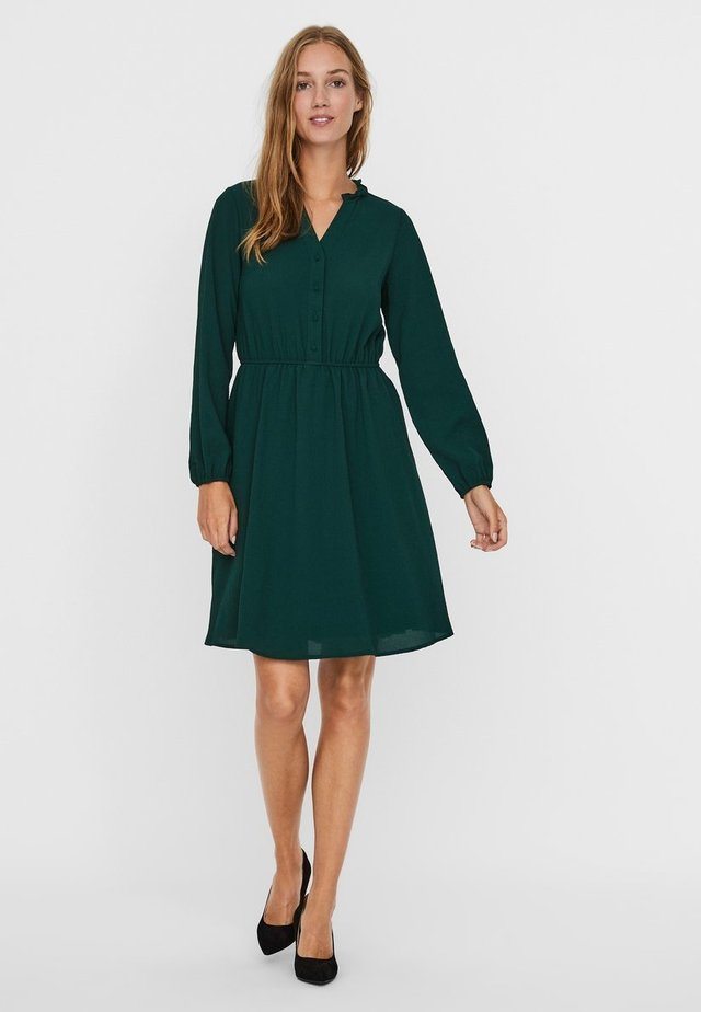Shirt dress - pine grove