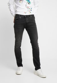 Pepe Jeans - SPIKE - Jean droit - black denim - 0