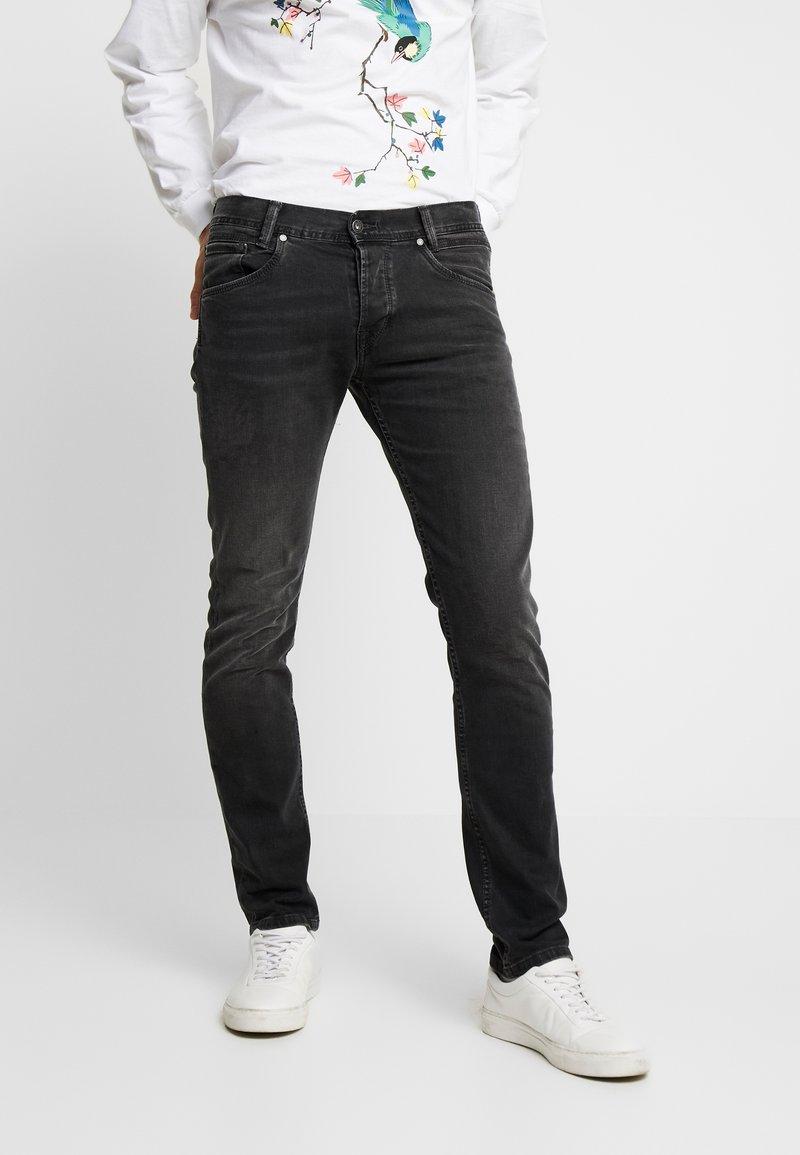Pepe Jeans - SPIKE - Jean droit - black denim