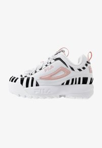Fila - DISRUPTOR - Sneakers basse - white/sepia rose - 0