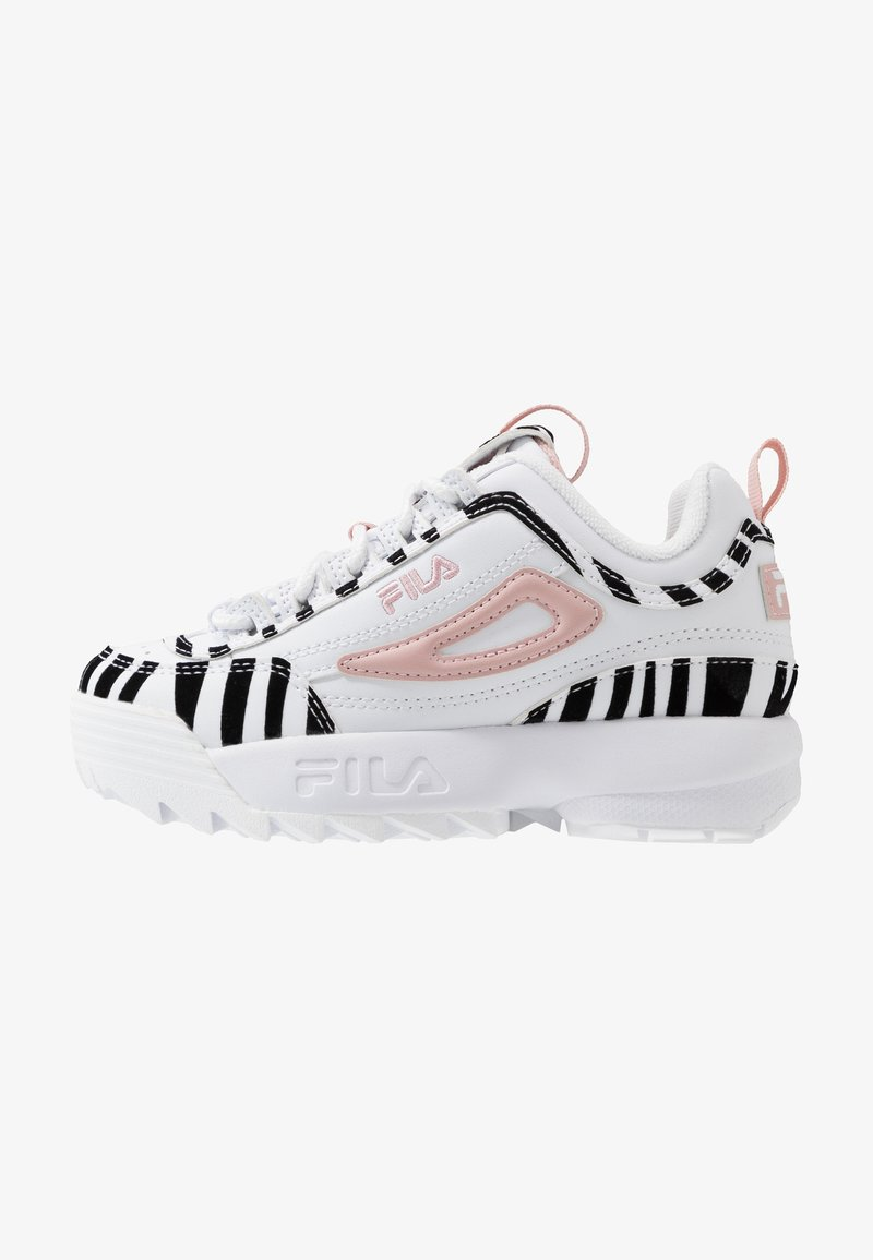 Fila - DISRUPTOR - Sneakers basse - white/sepia rose