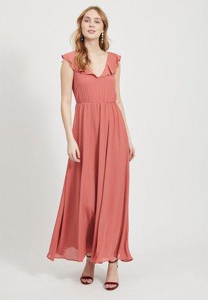 VIRANNSIL  - Długa sukienka - dusty cedar