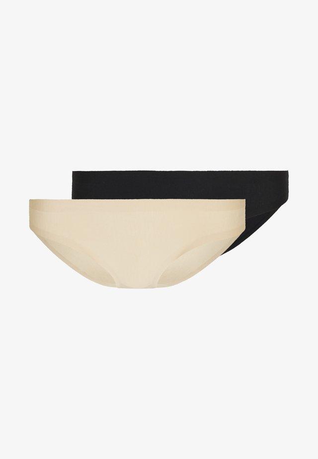 INVISIBLE 2 PACK - Alushousut - beige