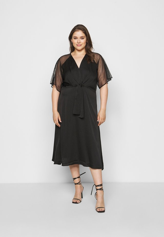 SACHITA DRESS - Cocktailklänning - black