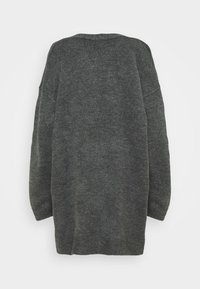 CAPSULE by Simply Be - COSY EDGE TO EDGE - Cardigan - charcoal - 1