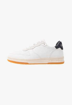 MALONE - Baskets basses - white/navy