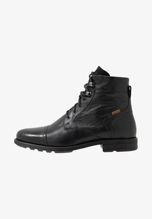 REDDINGER - Schnürstiefelette - regular black
