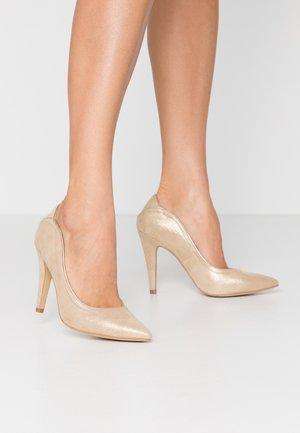 High heels - platine