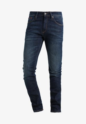 SLIM SCANTON DACO - Džíny Slim Fit - dark