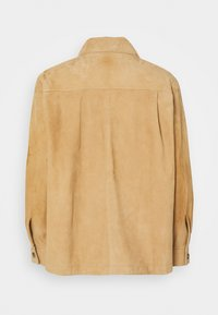 Alberta Ferretti - Kožená bunda - beige - 7