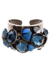 Konplott - Ring - blau/antiksilberfarben - 2