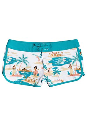 ROXY™ LOVE WAIMEA - BOARD SHORTS FOR GIRLS 8-16 ERGBS03073 - Swimming shorts - bright white honolulu s