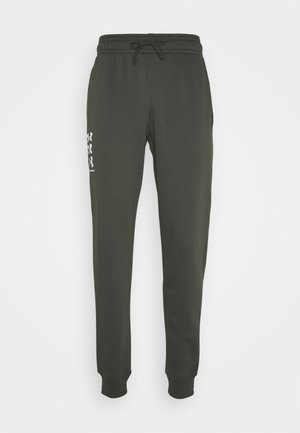 RIVAL MULTILOGO - Tracksuit bottoms - baroque green