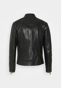 KARL LAGERFELD - BIKER JACKET - Leather jacket - black - 2