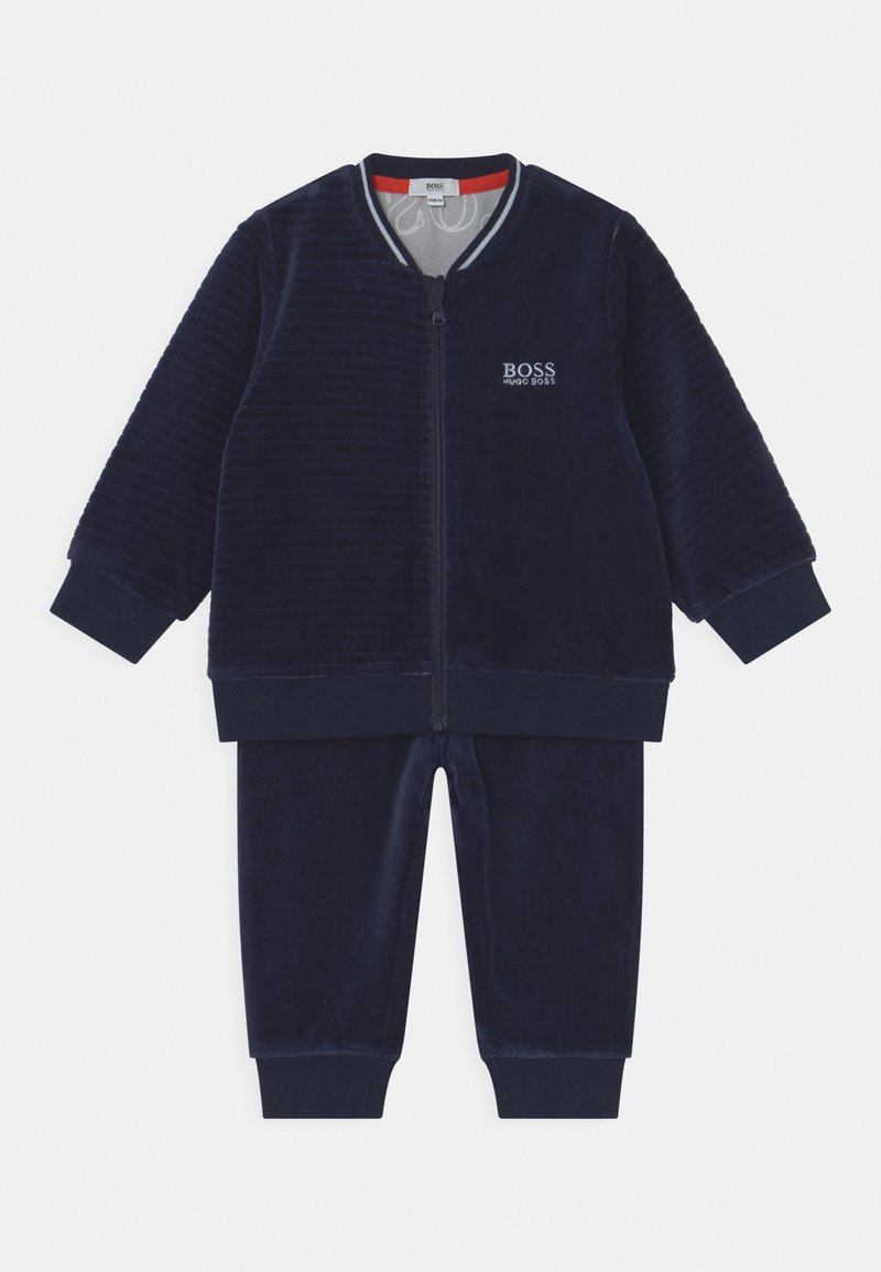 BOSS Kidswear - TRACK SUIT - Tracksuit - navy