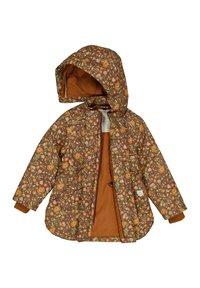 Wheat - ELDA TECH - Winter jacket - maroon flowers - 2
