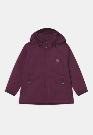 UNISEX - Softshellová bunda - potent purple