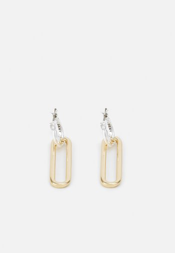 LINK DROP - Earrings - gold-coloured