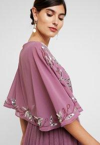 Maya Deluxe - EMBELLISHED KIMONOWRAP MAXI DRESS - Occasion wear - purple - 5