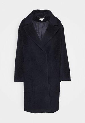 DRAWN COCCON COAT - Klasyczny płaszcz - navy