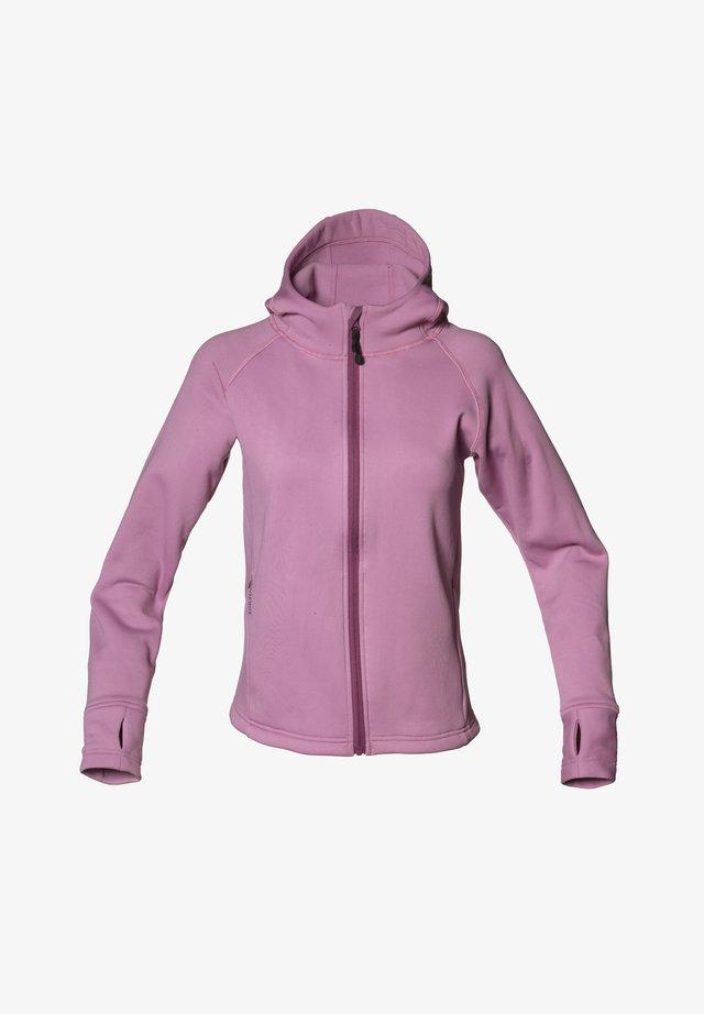 Fleece jacket - dusty pink
