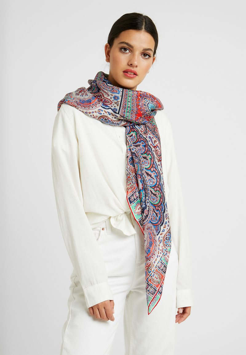 Roeckl - MAJESTIC PAISLEY - Scarf - multi/scarlet