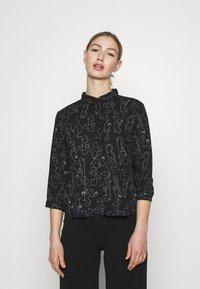 Monki - Button-down blouse - twirlsboddies - 0